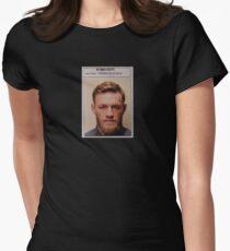 Conor Mcgregor Mugshot T-shirt Women's Fitted T-Shirt