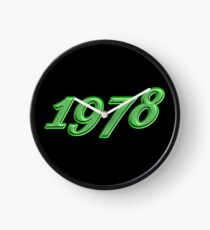 1978 Geburtsjahr Uhr