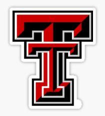 texas tech logo Sticker
