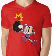 Bomberman Men's V-Neck T-Shirt