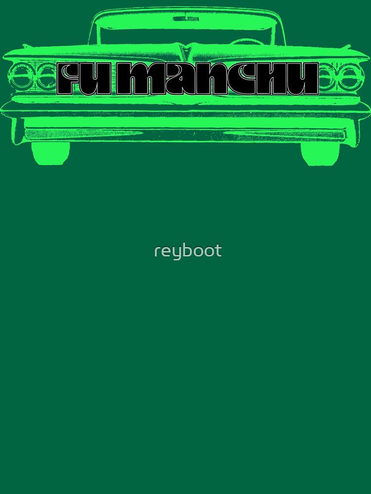 Fu Manchu by reyboot