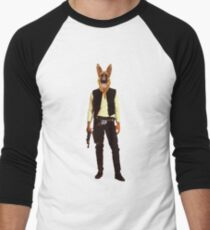 Han Solo Star Wars Dog Men's Baseball ¾ T-Shirt