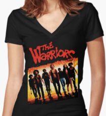 Film classique de gangs de rue T-shirt col V femme