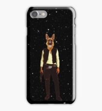 Han Solo Star Wars Dog iPhone Case/Skin