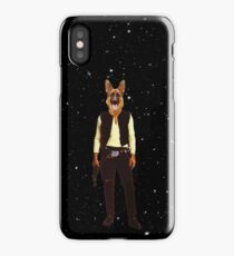 Han Solo Star Wars Dog iPhone Case/Skin