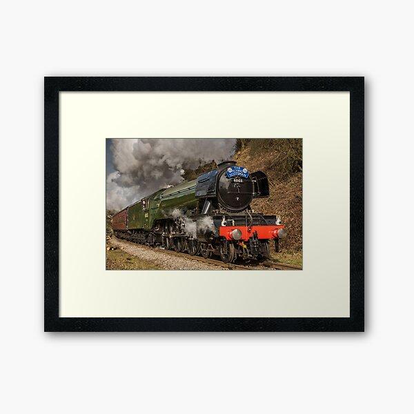 The Flying Scotsman Framed Art Print
