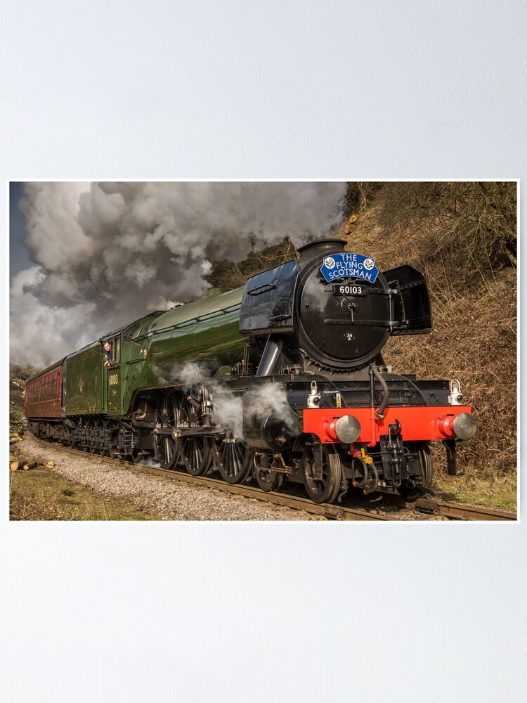 Alternate view of The Flying Scotsman Poster
