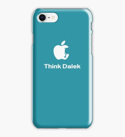 Think Dalek  iPhone Case/Skin