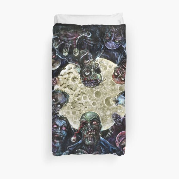 Zombies Attack (Zombie horde) Duvet Cover