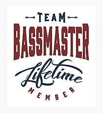 Team Bassmaster Photographic Print