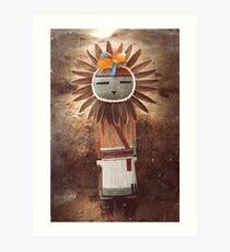 Sun Kachina Art Print