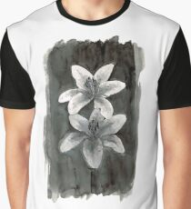 Ink Lillies Graphic T-Shirt
