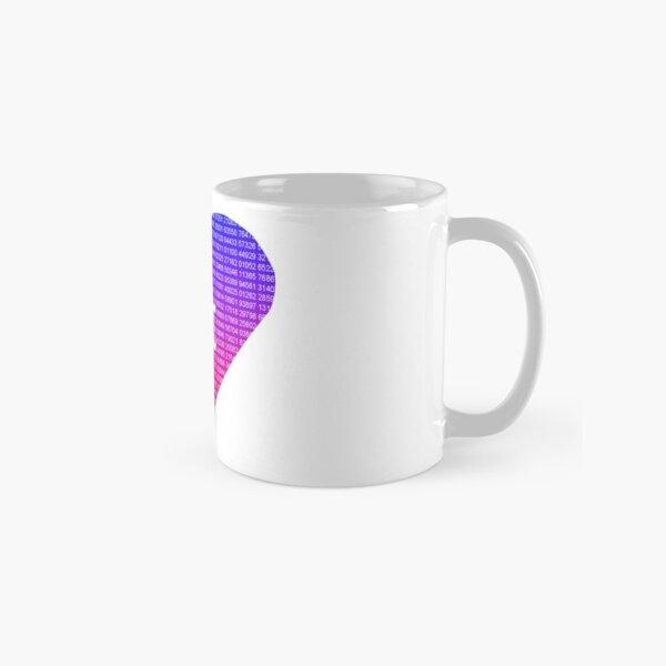 Pi Heart Classic Mug