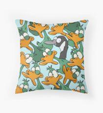 Duck Duck Goose! Throw Pillow
