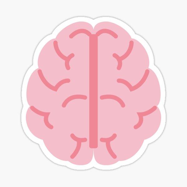 Brain Pastel - Psychology Student Sticker