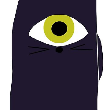 All Seeing Cat by SofiaColfer