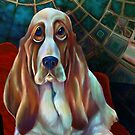 Bennie The Basset Hound: What? I've Been Right Here! by Alma Lee