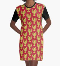 The eagle Graphic T-Shirt Dress