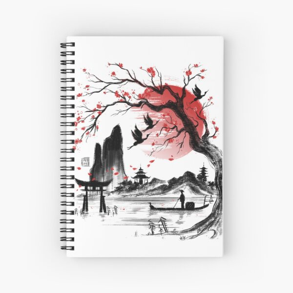 Japan dream Spiral Notebook