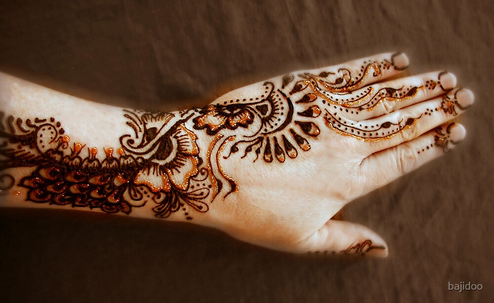 All that Glitters is Gold, Henna Tattoo Art von bajidoo