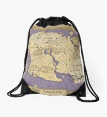Elder Scrolls map - Tamriel Drawstring Bag