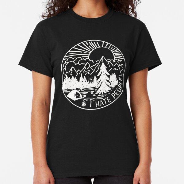I-hate-People Classic T-Shirt