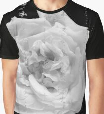 Vintage white rose Graphic T-Shirt