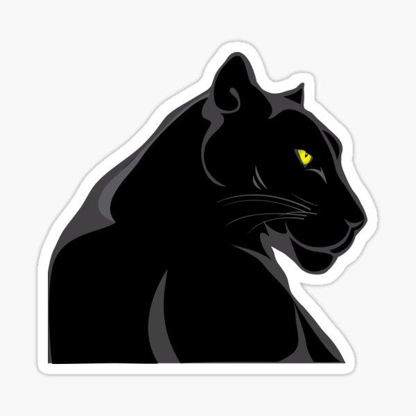 Bagheera - der schwarze Panther Sticker