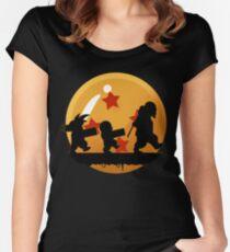 warrior ball Women's Fitted Scoop T-Shirt