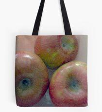 Les Pommes Trois  Tote Bag