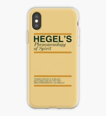 Hegel's Phenomenology of Spirit iPhone Case