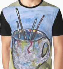 Artist's Cup Graphic T-Shirt