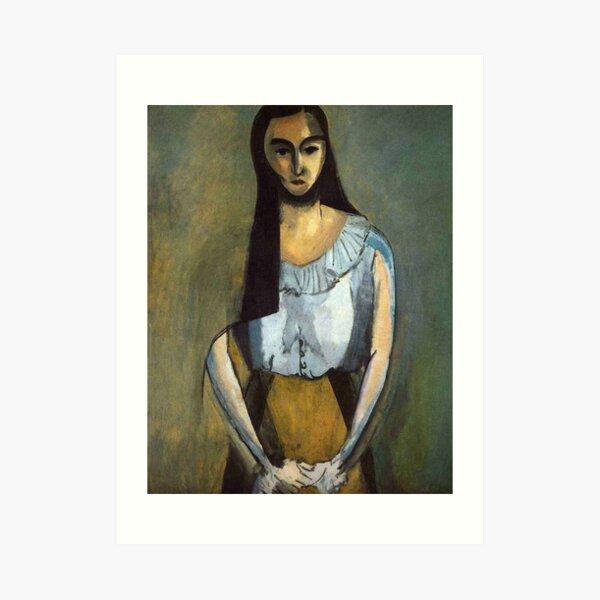 The Italian Woman-Henri Matisse Art Print