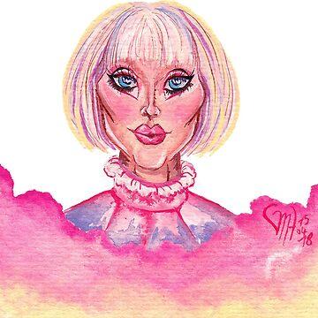 drag oc - inspired by trixie & katya by mugs-munny