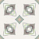 Retro Diamonds and Squares by Ruth Moratz
