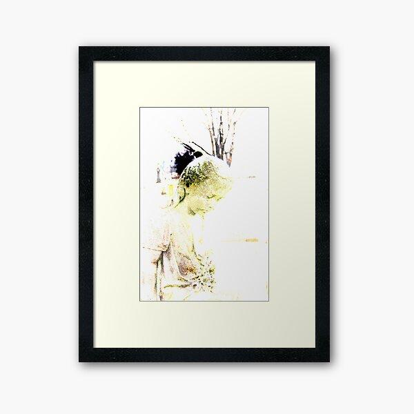 Lillien in Sepia Tones Framed Art Print