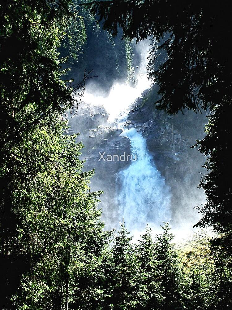 Krimmler Wasserfälle by Xandru