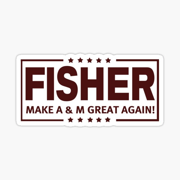 Fisher - MTAMGA!!! Sticker