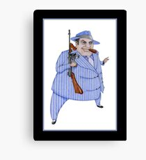 Murder Mystery Mob Boss Canvas Print
