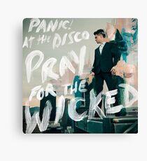 panic pray for the wicked tour 2018 soenda Canvas Print