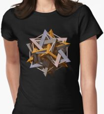 'Doceca-Star' Womens Fitted T-Shirt