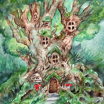 Fairy Tree House by JCathryn