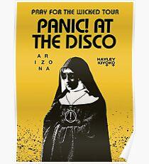 panic pray for the wicked ori disco tour 2018 soenda Poster