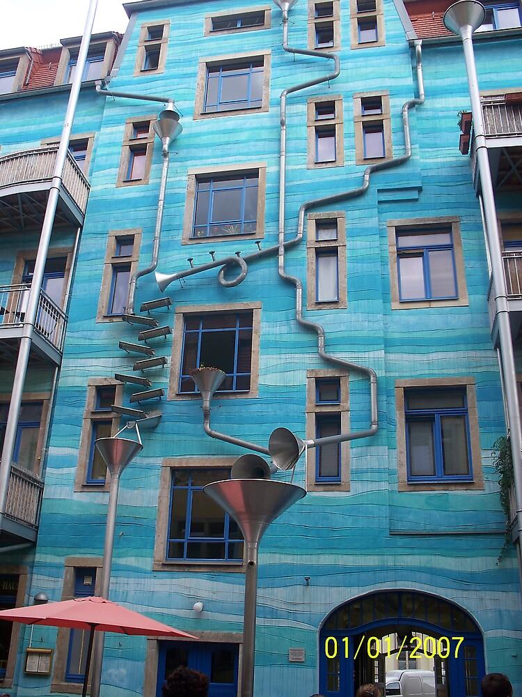 Musical Building by Allison Matthas