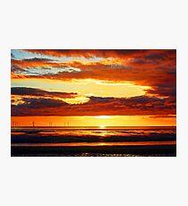 Irish Sea - Heavy Skys Photographic Print