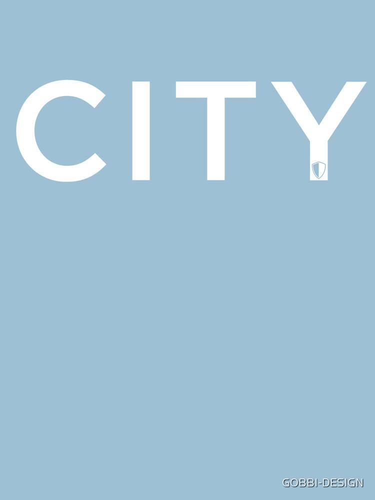 CITY   Sky Blue & White by GOBBI-DESIGN