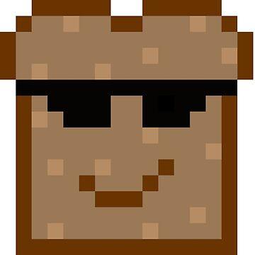 Toast Pixel Sunglasses by Er1k99