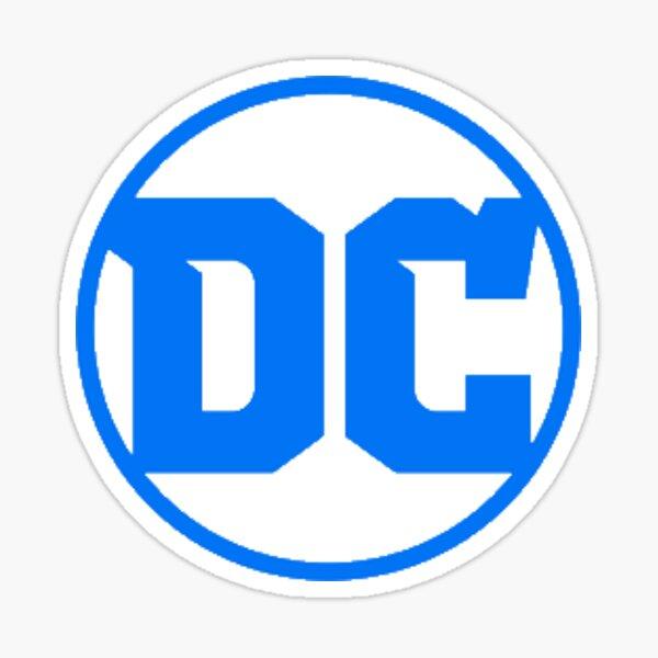 DC Logo Sticker Sticker