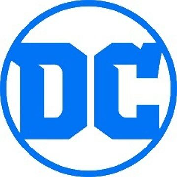 DC Logo Sticker by thefaceman
