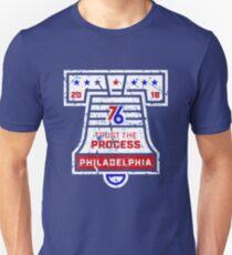 Philadelphia Trust The Process Bell T-Shirt   Unisex T-Shirt